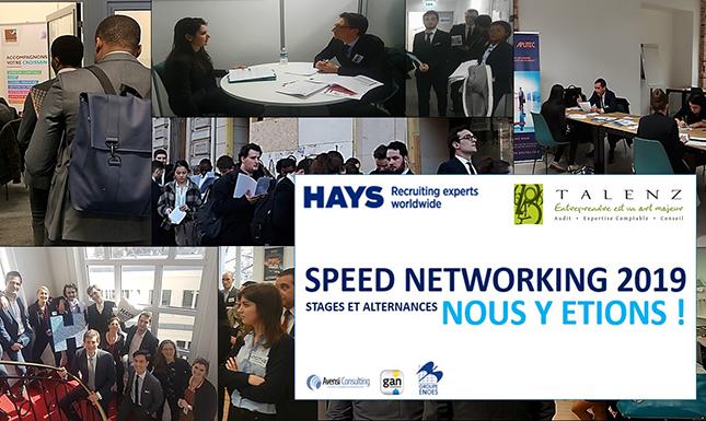 Talenz x Hays Speednetworking 2019 recrutement stagiaires et alternants