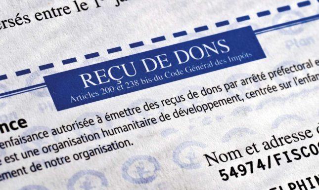 Associations Etablir Des Recus Fiscaux Talenz